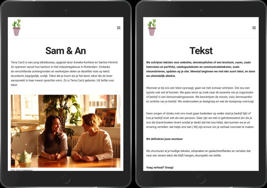 Terra Cacti op iPad