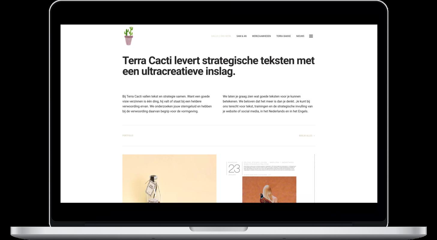 Terra Cacti op desktop