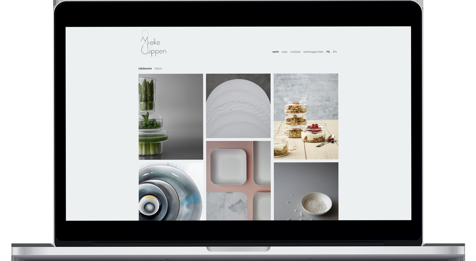 Mieke Cuppen op desktop