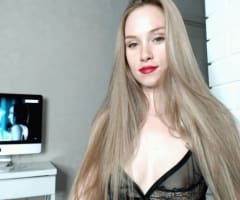 snapshot van werkende webcamgirl