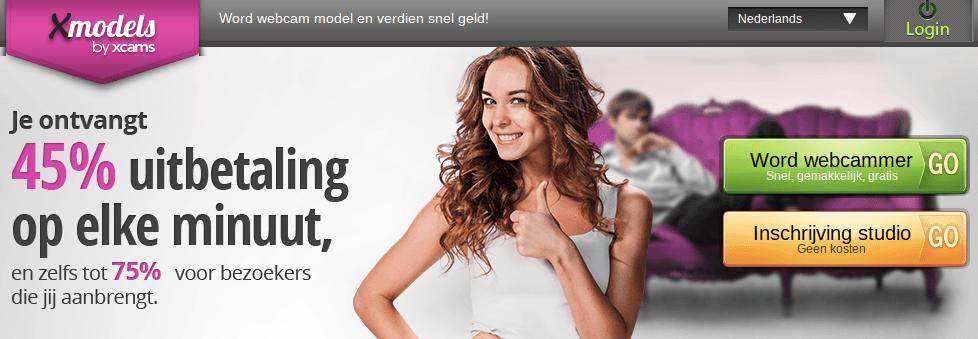 Webcamgirl worden bij Xmodels