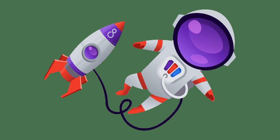 Wir lieben den Pimcore Rocketman