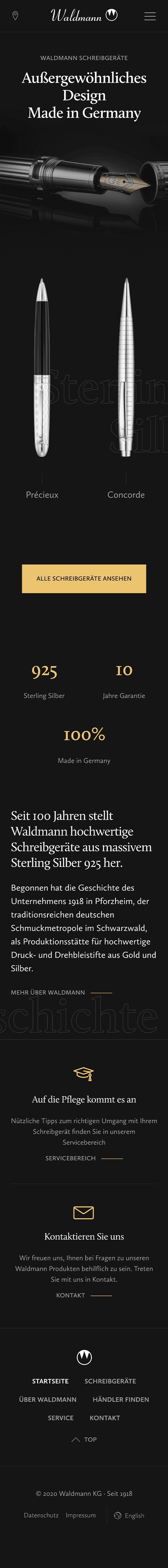 Screenshot Waldmann