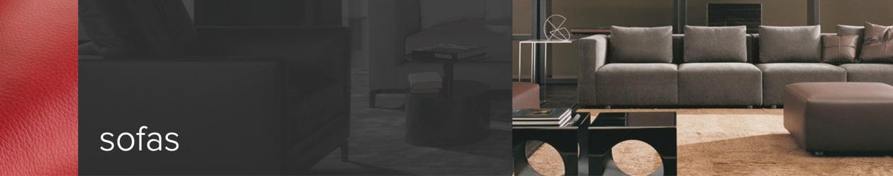 Screenshot Kategorieteaser Sofas – Designermöbel online kaufen. Im Shop dieter-horn.de