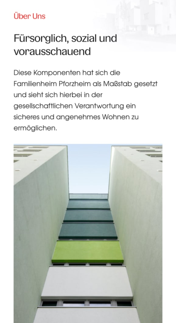 Screenshot Familienheim