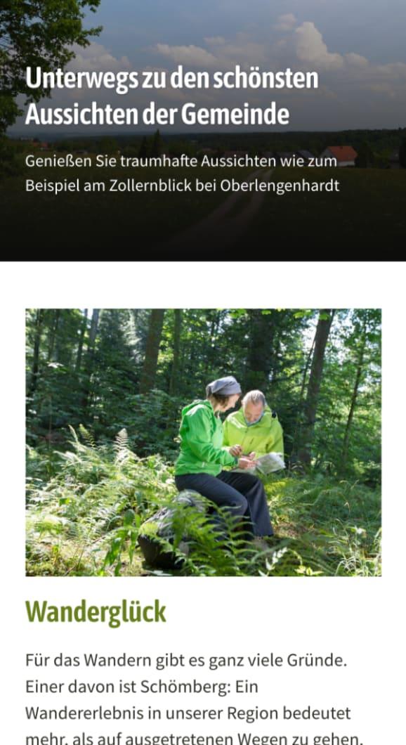 Screenshot Schömberg