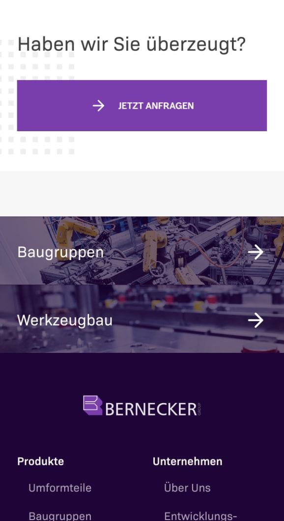 Screenshot bernecker
