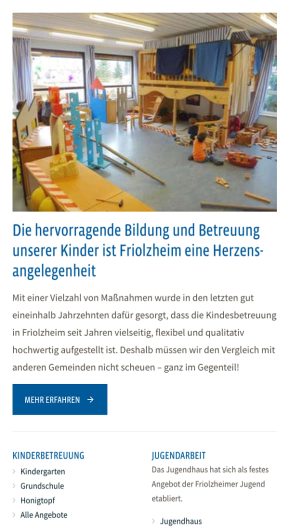 Screenshot Friolzheim