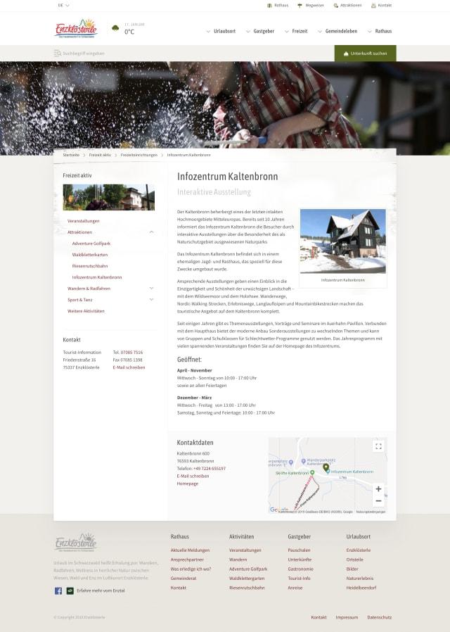 Screenshot Enzklösterle