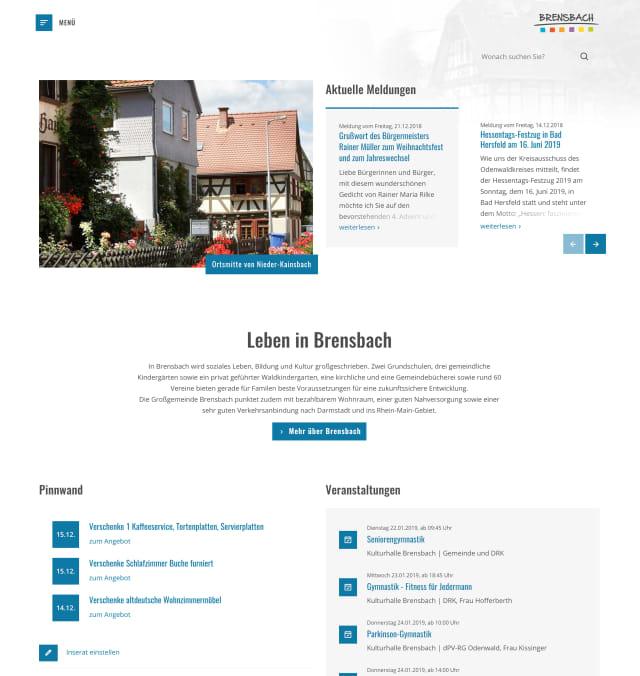 Screenshot Brensbach