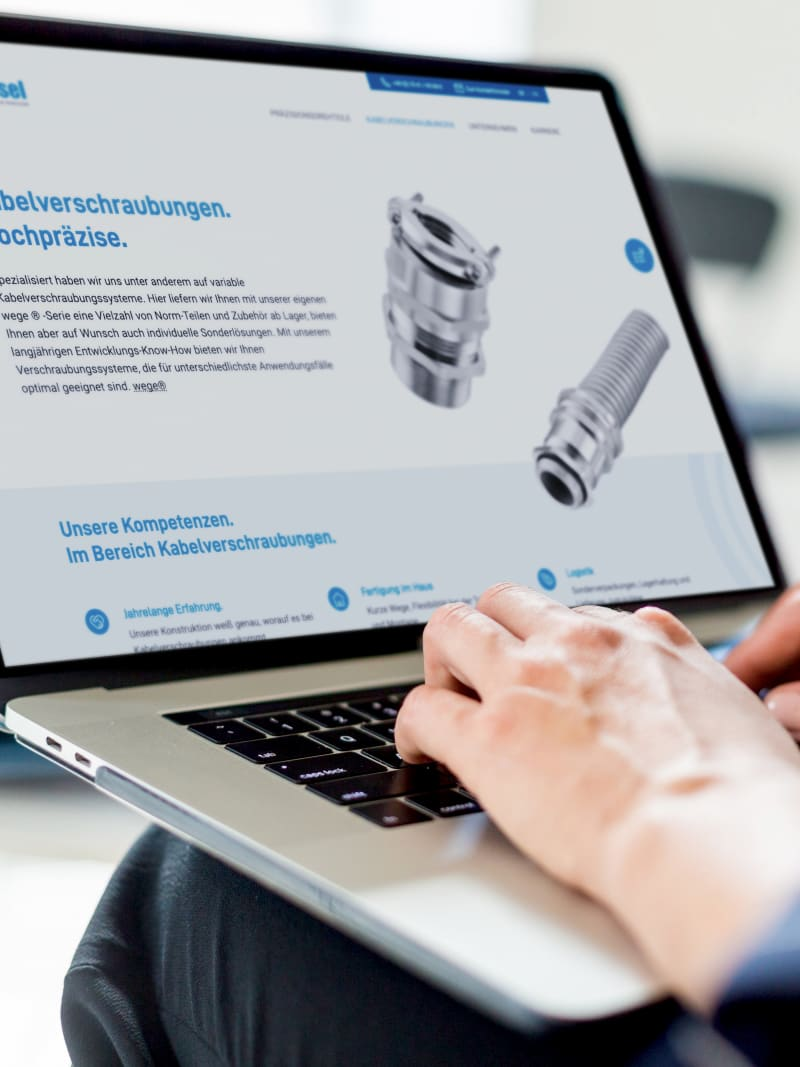 """Projekt """"geissel"""" von web://contact"""
