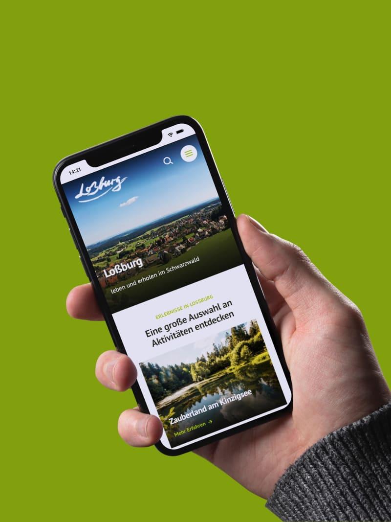 """Kommunal-Projekt """"Loßburg"""" von web://contact"""