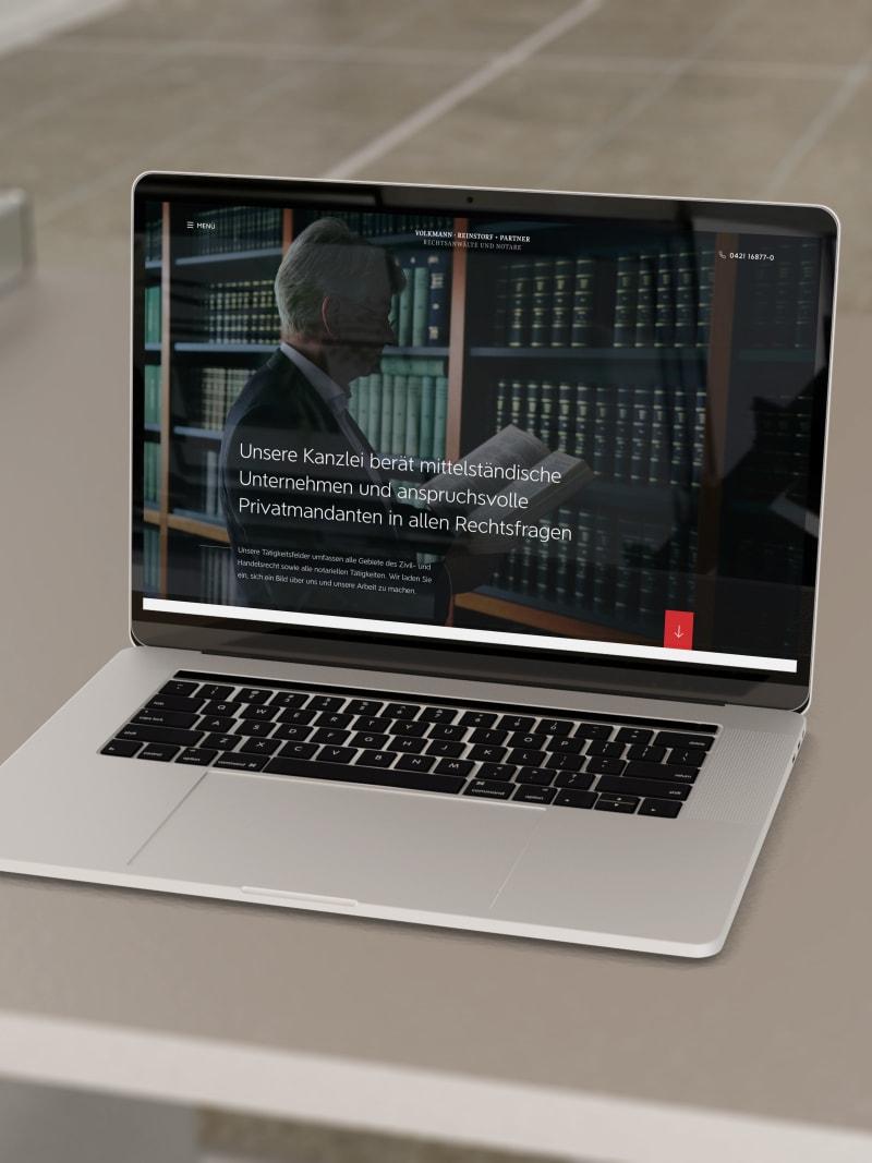 """Projekt """"Volkmann"""" von web://contact"""
