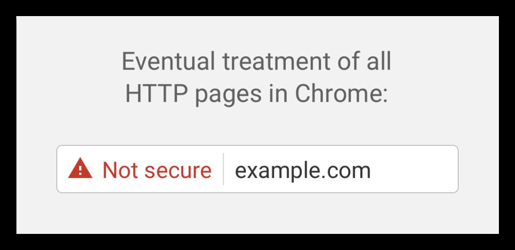 - Ha ezt látja kiírva a Chrome böngészőben, jobb lesz, ha nem kattint tovább
