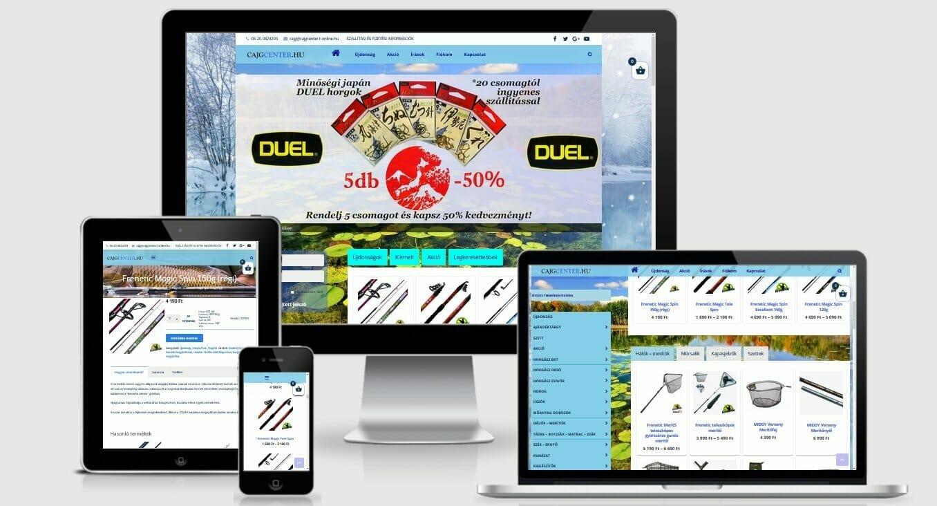 Cajgcenter Horgász Webáruház