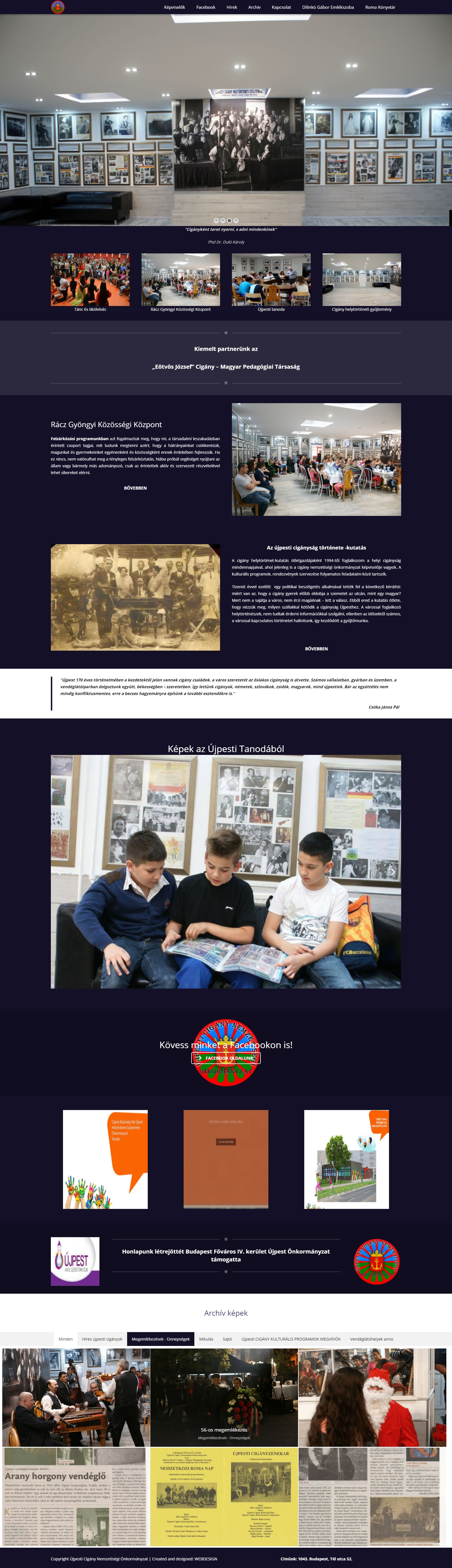 Újpesti Nemzetiségi Önkormányzat - Újpesti Nemzetiségi Önkormányzat