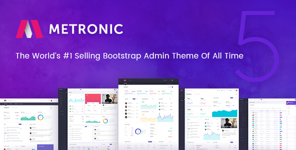 Metronic v5.5.5 (Updated 15 January 2019)