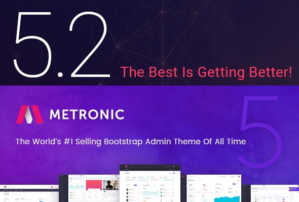Metronic 5.2