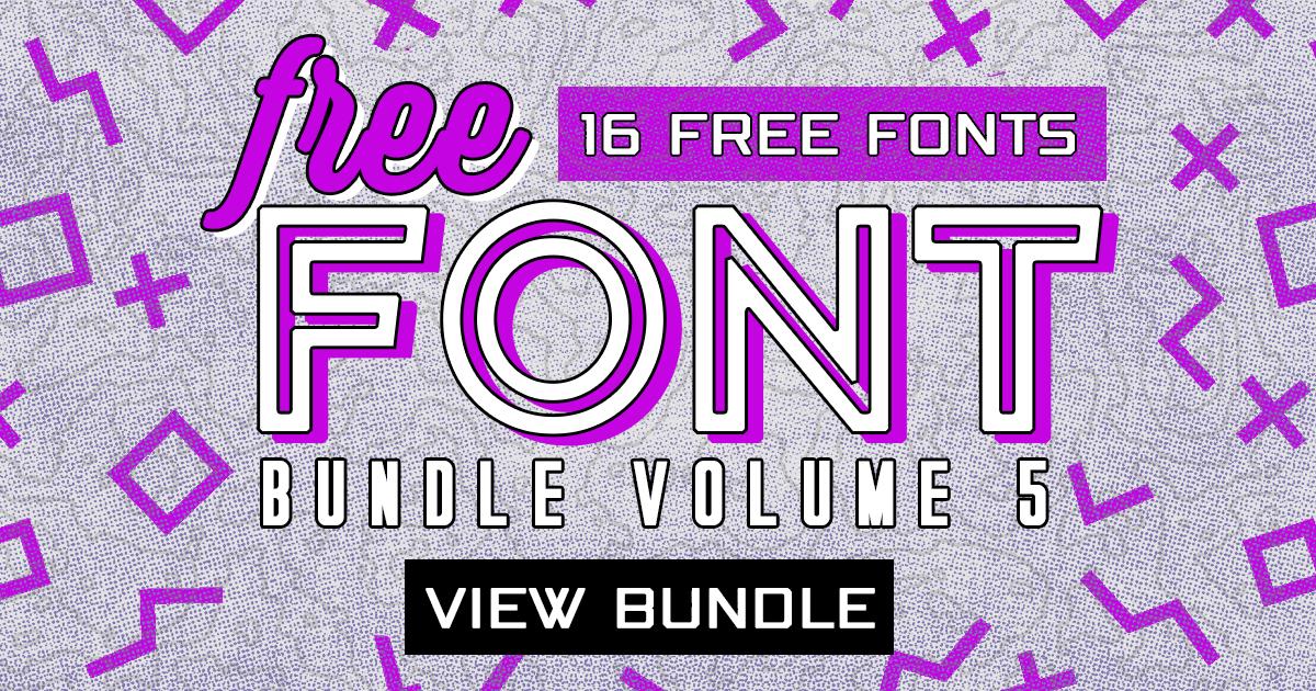 Download Download Free Font Bundle Vol. 5 - 16 Premium Font ...
