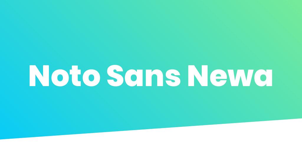 Noto Sans Newa Font
