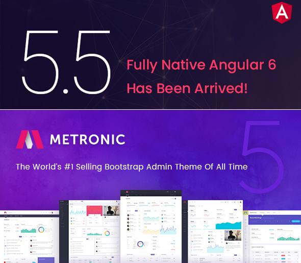 Metronic Template | Download Metronic V5 5 Metronic Admin 5 5 Update 31 July 2018