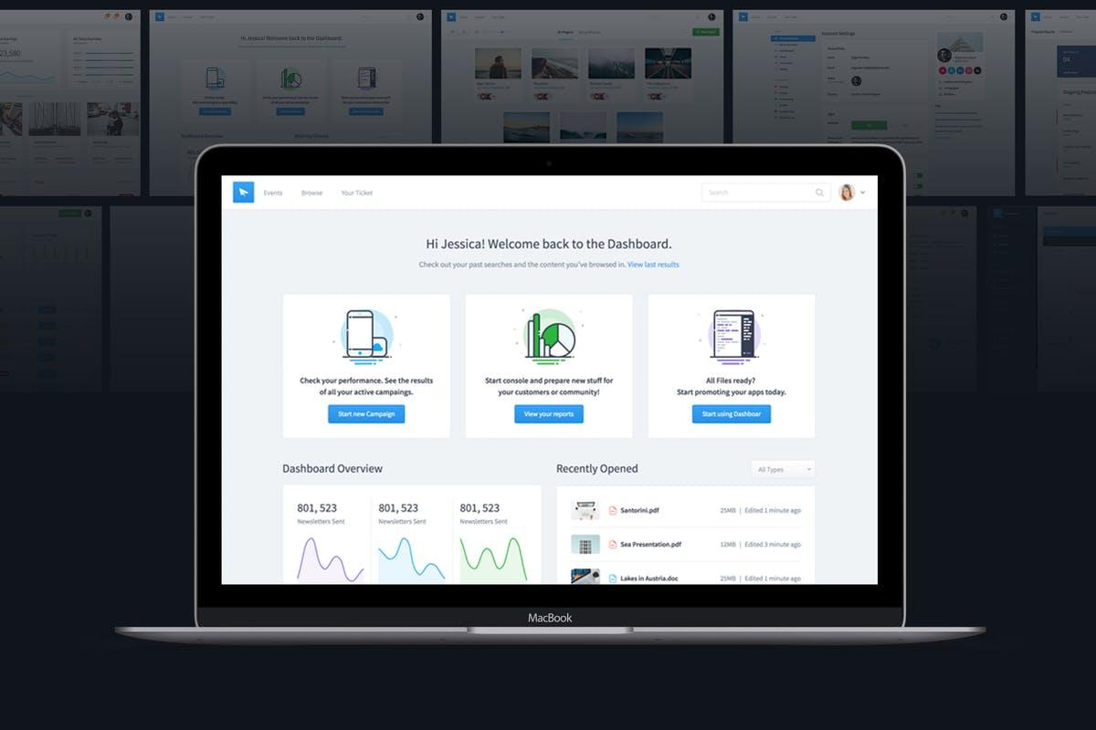 Dashboard UI Kit | Admin Template & UI Framework
