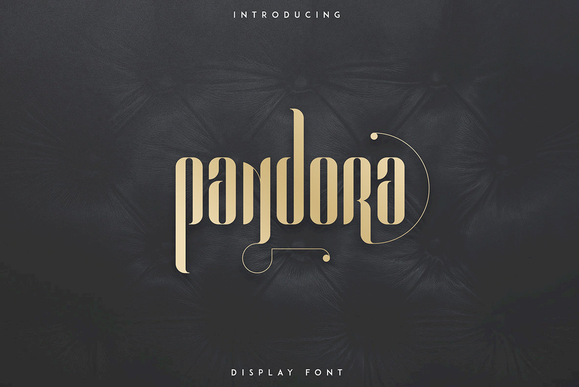 Pandora Display Font Family