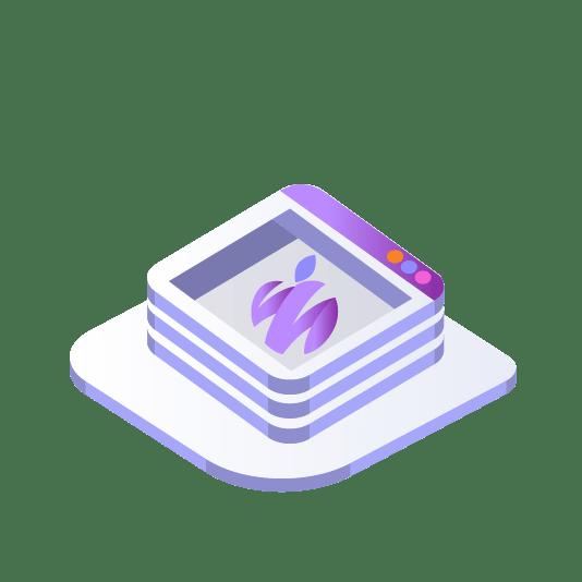 אייקון - עיצוב לוגו