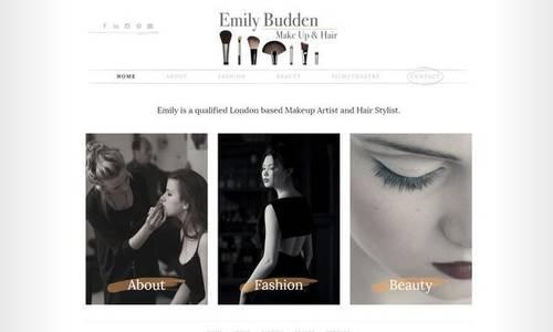 Make Up Artist Website Design Examples