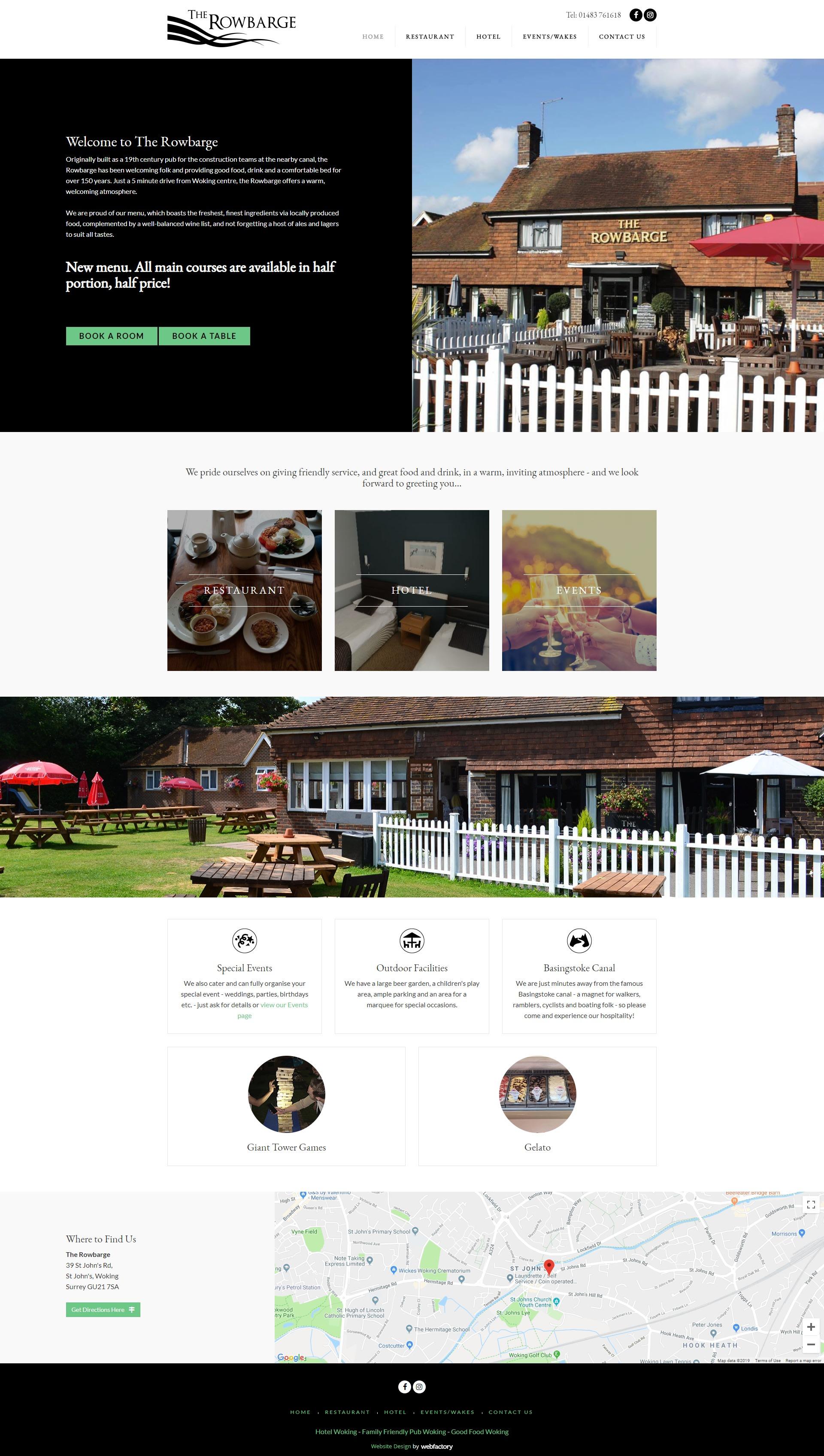 Bespoke Website Design Examples Webfactory