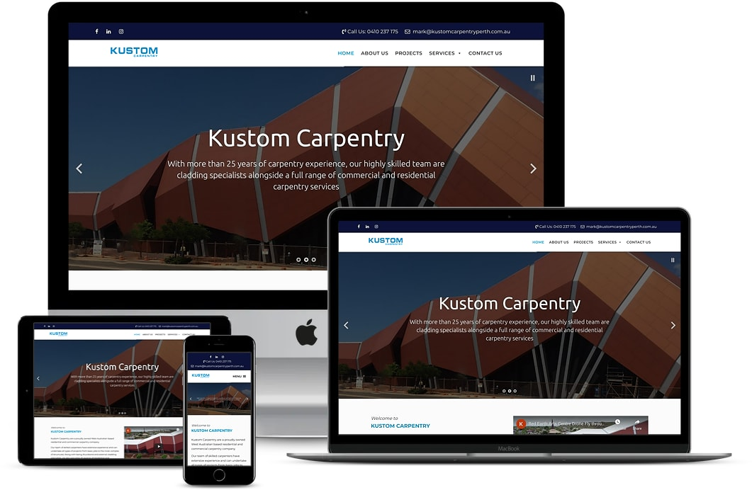Kustom Carpentry Case Study