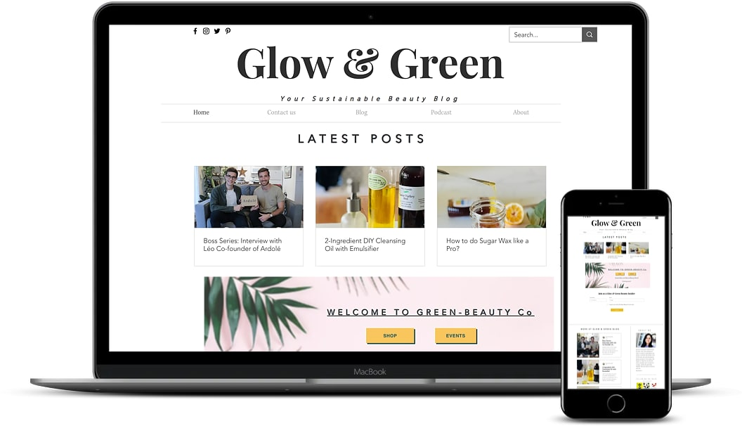 Glow and Green Case Study