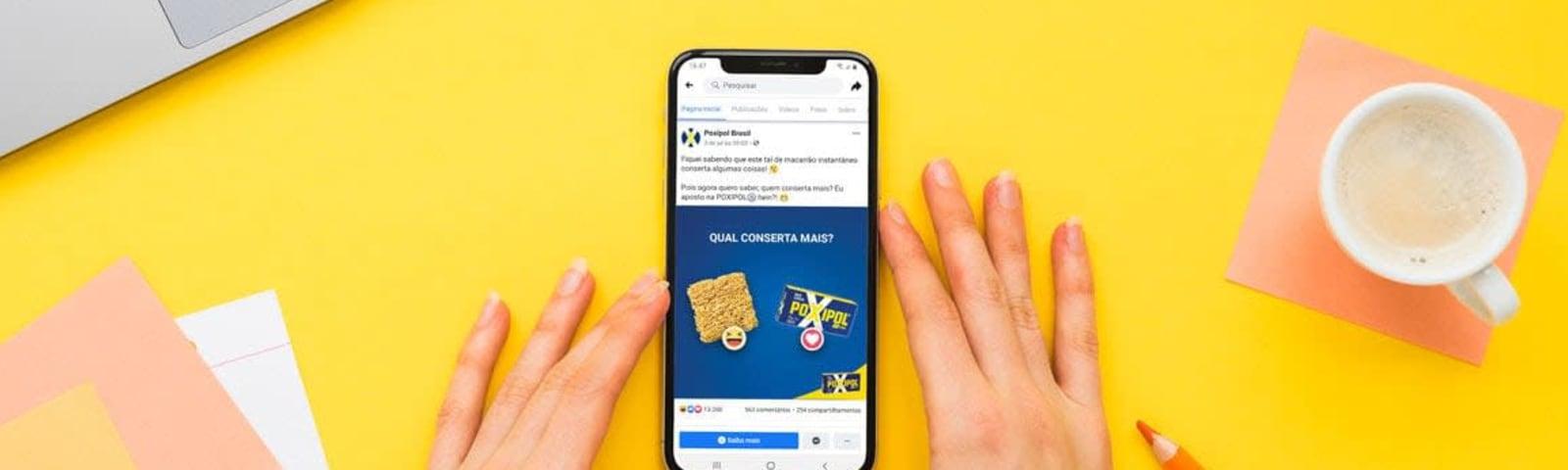 Imagem de destaque do post O que faz um social media: Marke e POXIPOL® Brasil nas redes sociais