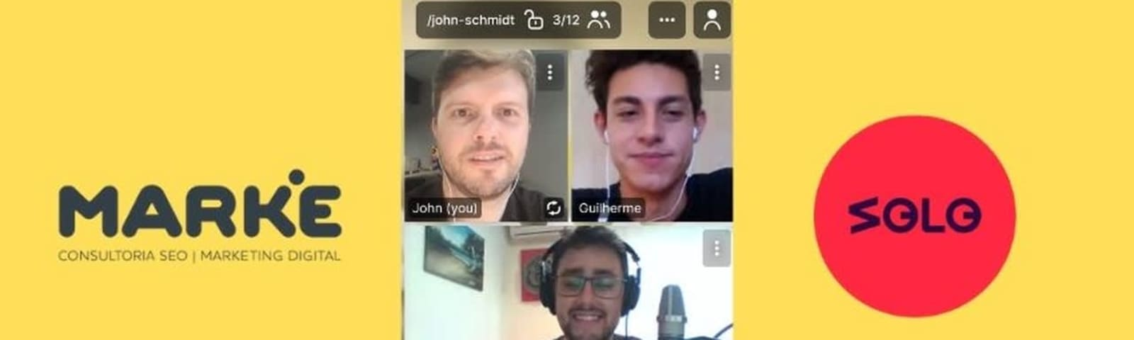 Imagem de destaque do post Papo sobre Estratégias de Marketing Digital | Podcast Solo Talks do Estúdio Solo