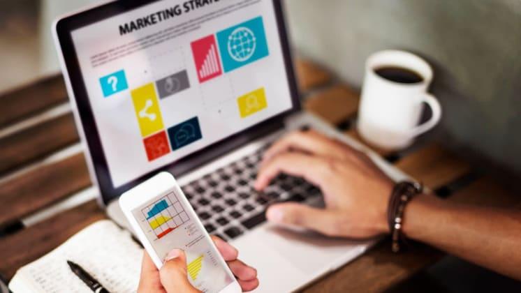 Thumbnail do post 4 estratégias de Marketing Digital para pequenas empresas