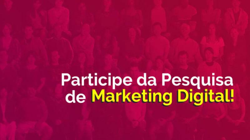 Imagem de destaque do post Marke desenvolve pesquisa de Marketing Digital