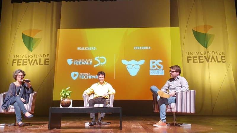 Imagem de destaque do post Marketing digital e redes sociais são tema de evento com Orkut Büyükkökten na Feevale