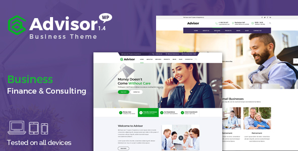 Advisor - Best Corporate WordPress Theme