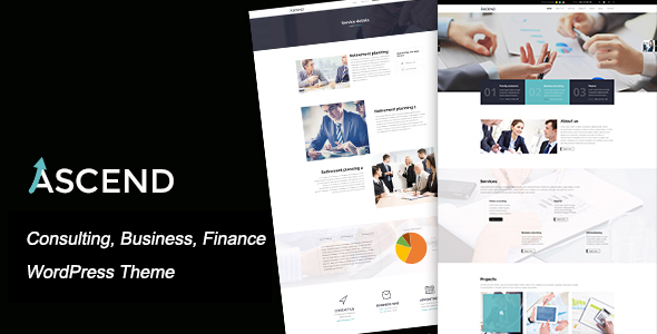 Ascend - Best Corporate WordPress Themes