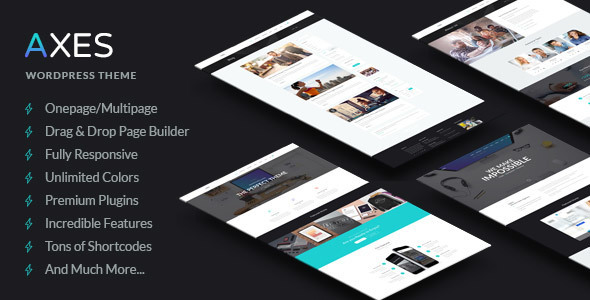 Axes Corporate WordPress Theme