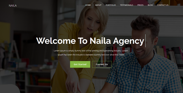 Naila Best Corporate WordPress Themes