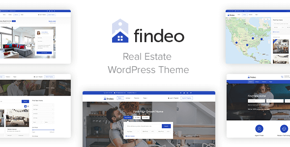 Findeo - Best Real Estate WordPress Theme