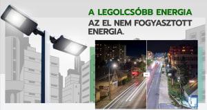 GREP Green Public Lighting Zrt. 100%-ban karbonsemleges!