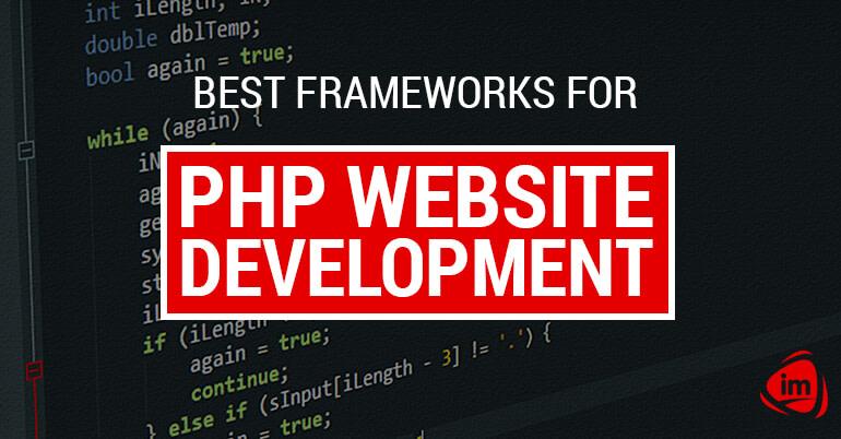 Best frameworks for PHP website development