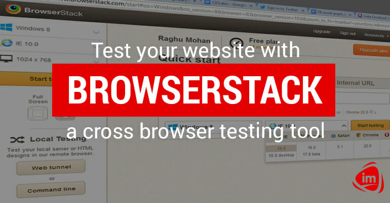 Test Your Website with Browserstack, a Cross-browser Testing Tool