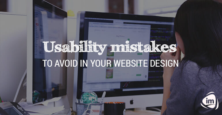 Usability Mistakes to Avoid in Your Website Design