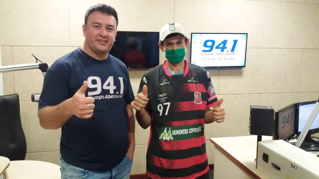 Ouvinte Campo Aberto FM de Laranjeiras do Sul é o ganhador da camisa do Operário Futsal