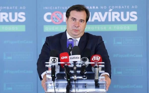 Rodrigo Maia também testa positivo para Covid-19