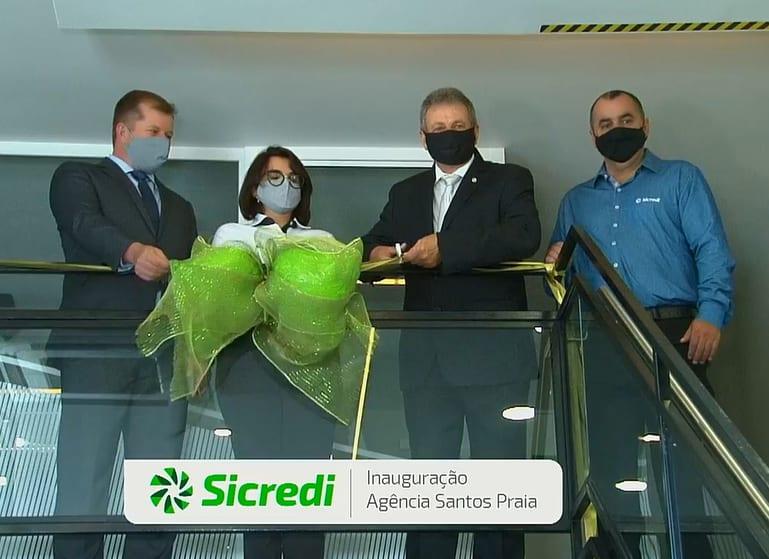 Sicredi Grandes Lagos inaugura terceira agência em Santos e amplia rede de atendimento na baixada santista