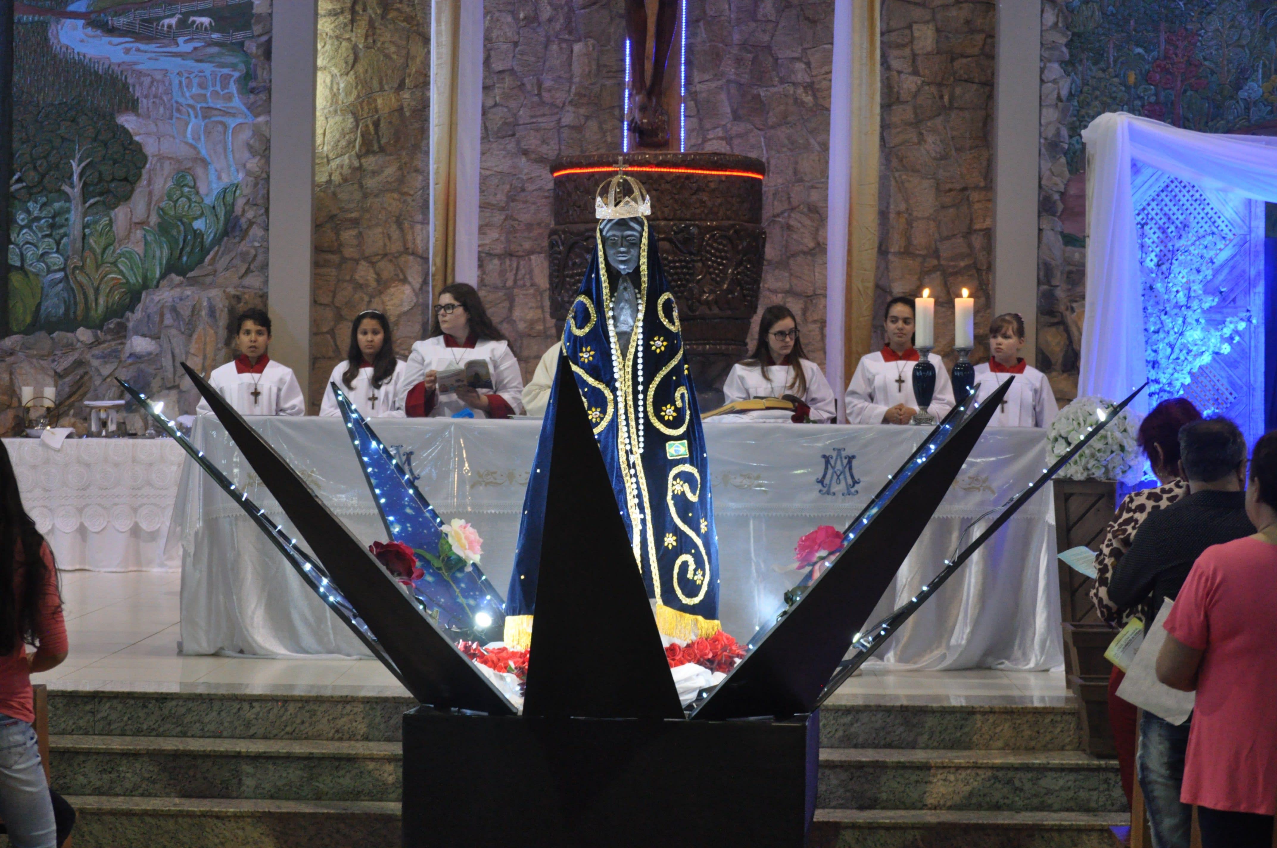 Missa do Envio abre a programação religiosa da 35ª Festa em Louvor a Nossa Senhora Aparecida na noite desta quarta (30)